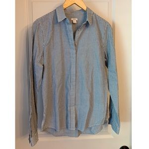 Fossil Striped Button Down Shirt
